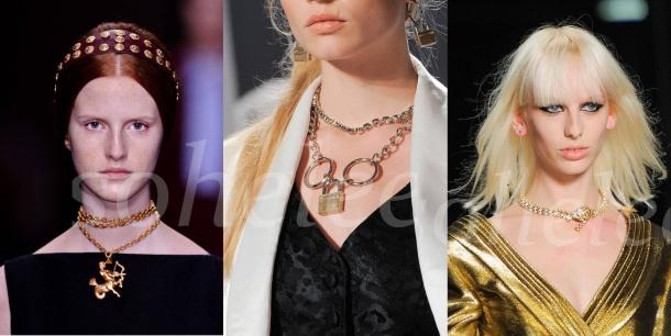 valentino revives the pendant